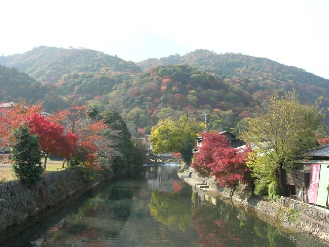 Arashiyama in the autumn