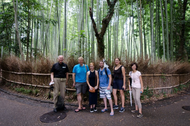 Group photo in Kyoto