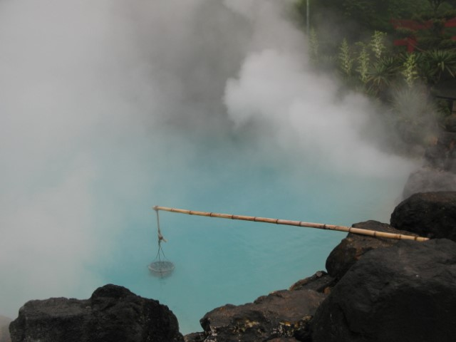 Hot springs in Beppu