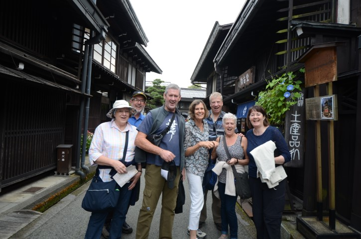 Group photo in Takayama