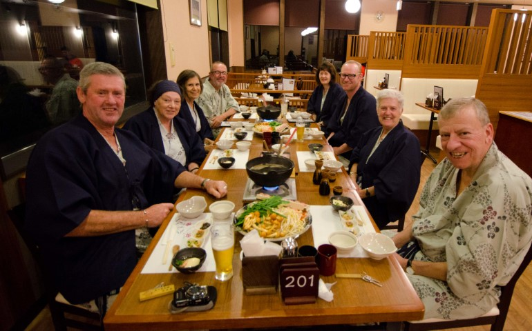 Group Meal, Hakone